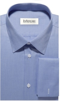 InStitchu Collection The Duxbury Blue Shirt