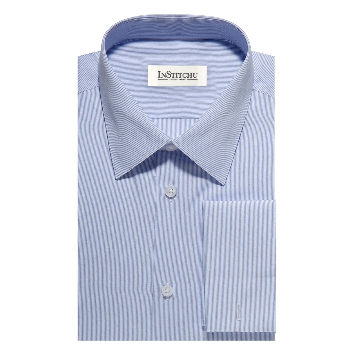 InStitchu Collection The Edisto Blue Stripe Shirt