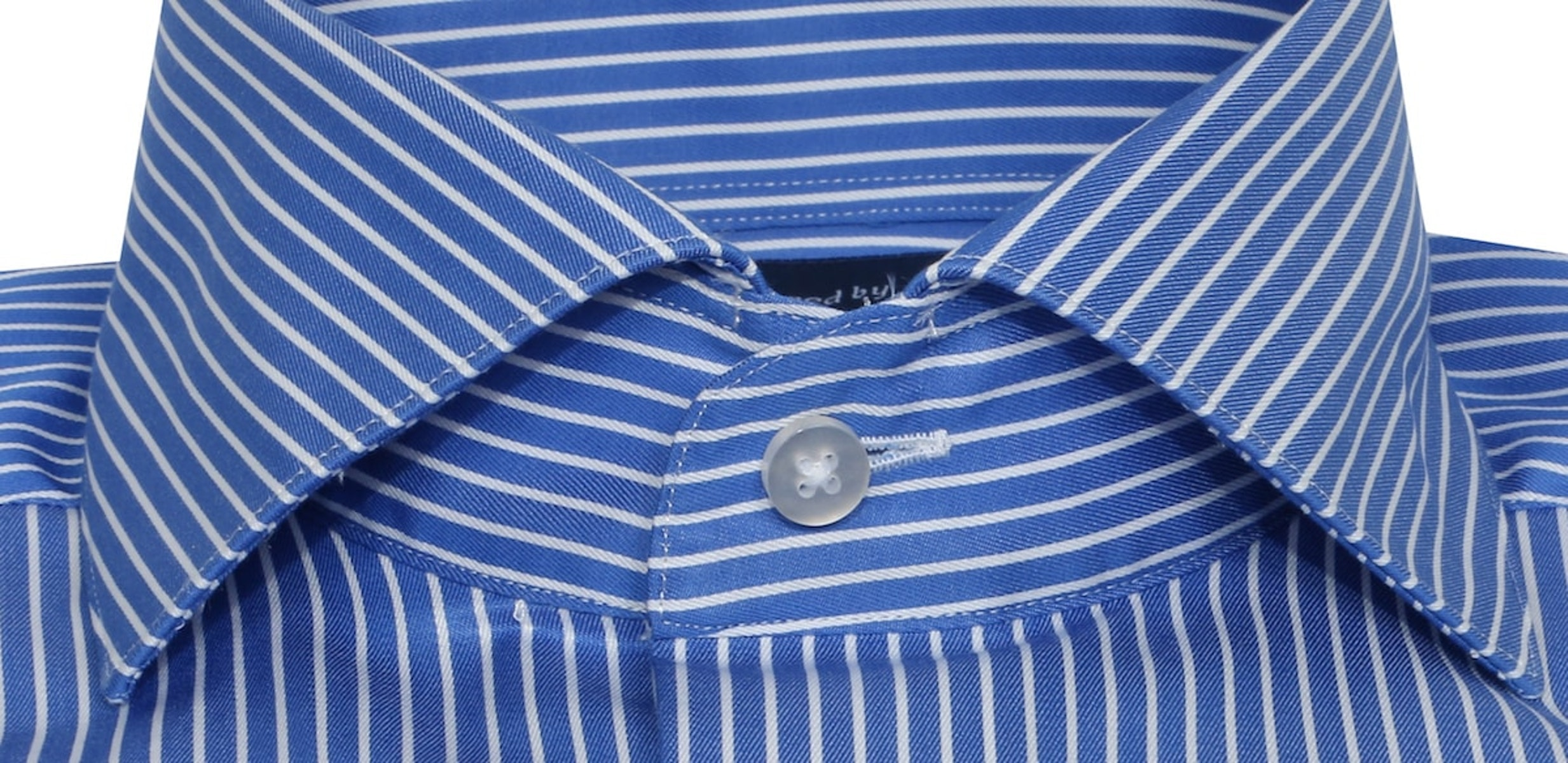 InStitchu Collection The Emeralda Blue Stripe Shirt