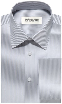 InStitchu Collection The Espinar Navy White Stripe Shirt