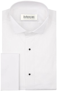 InStitchu Collection The Gallego White Pleated Shirt