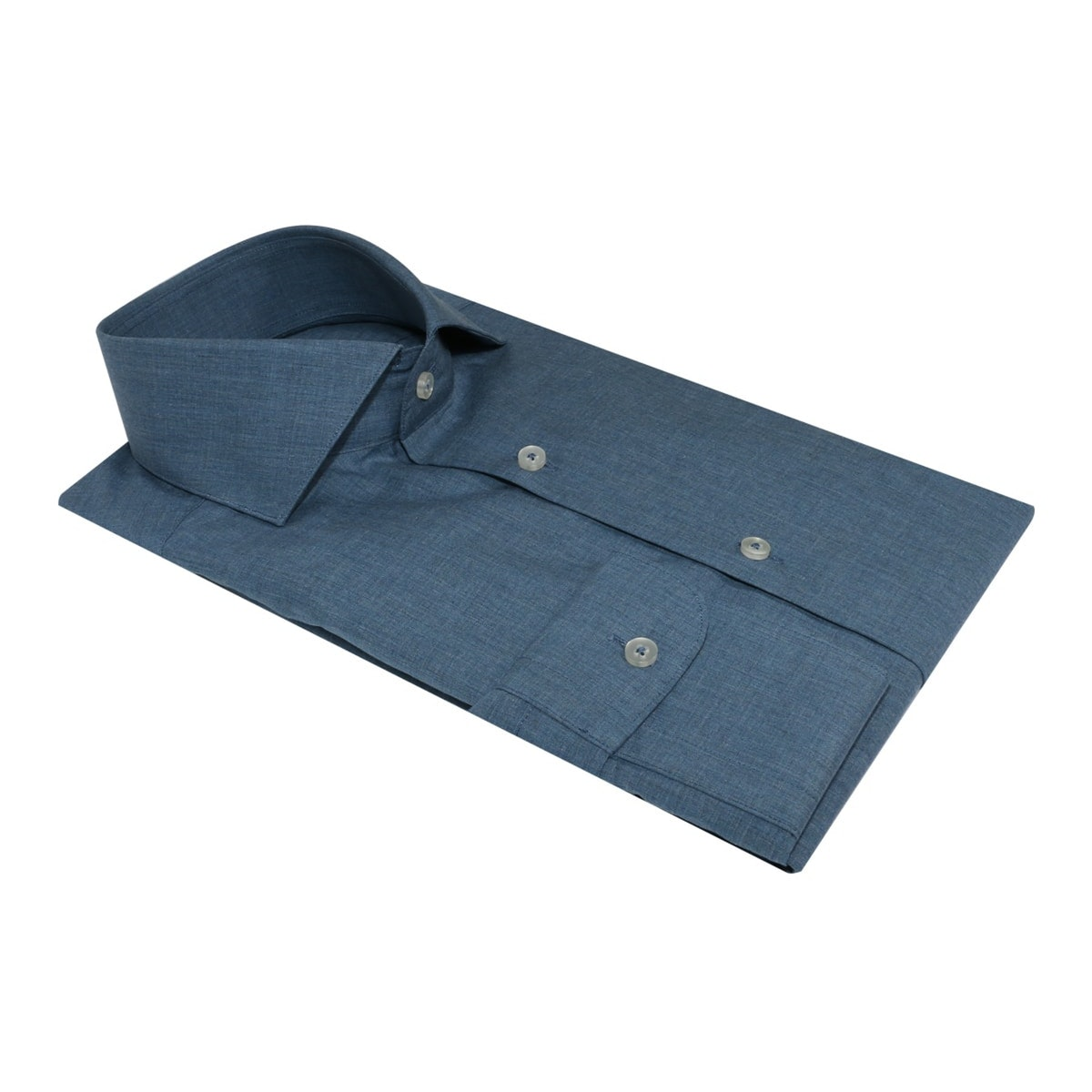 InStitchu Collection The Garie Blue Chambray Shirt