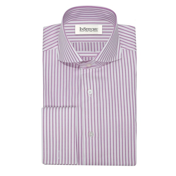 InStitchu Collection The Holloways Berry Striped Shirt