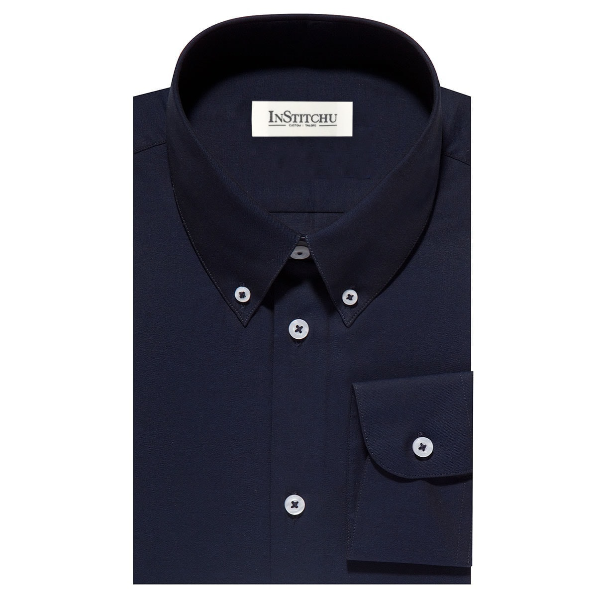 InStitchu Collection The Juno Navy Shirt