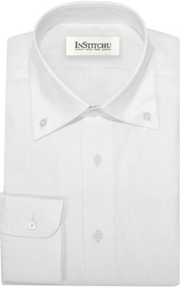InStitchu Collection The Kailua White Linen Shirt