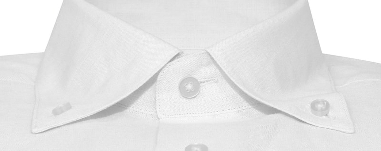 InStitchu Collection The Kailua White Linen Shirt
