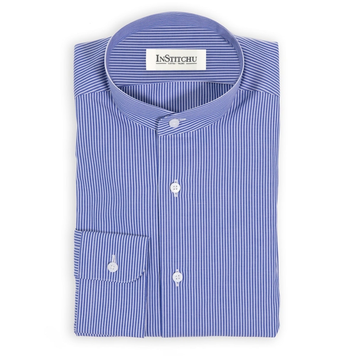 InStitchu Collection The Lam Blue Stripe Shirt