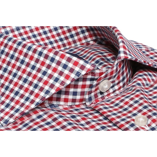InStitchu Collection The Lighthouse Red and Blue Check Shirt