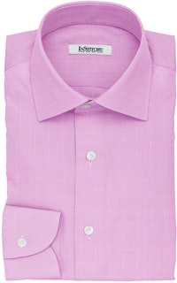 InStitchu Collection The London Pink Glen Plaid Cotton Shirt