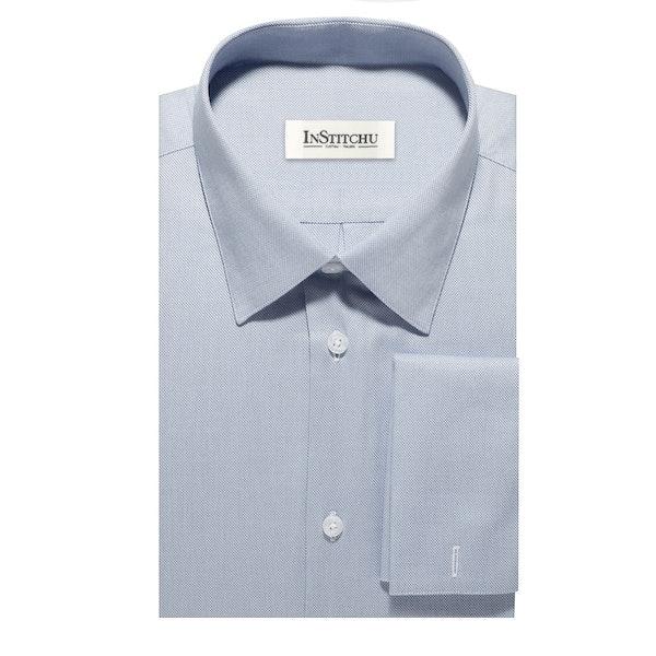 InStitchu Collection The Lucky Light Blue Shirt