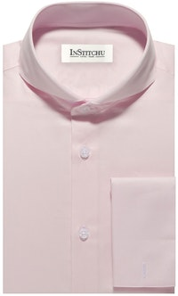 InStitchu Collection The Madeira Pink Shirt