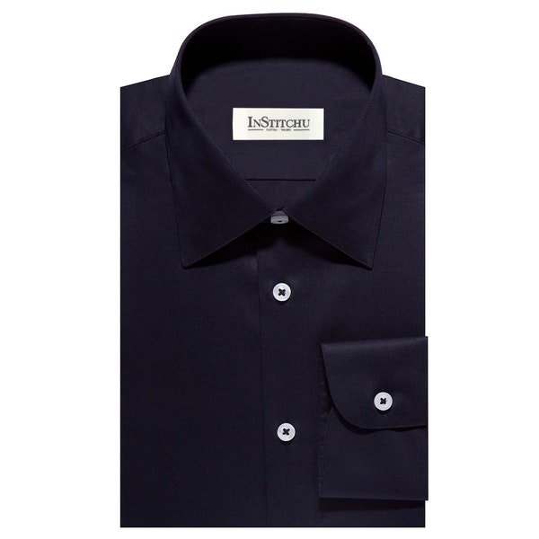 InStitchu Collection The Marco Navy Shirt