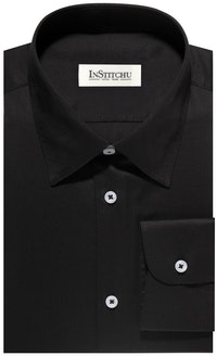 InStitchu Collection The Marconi Black Shirt