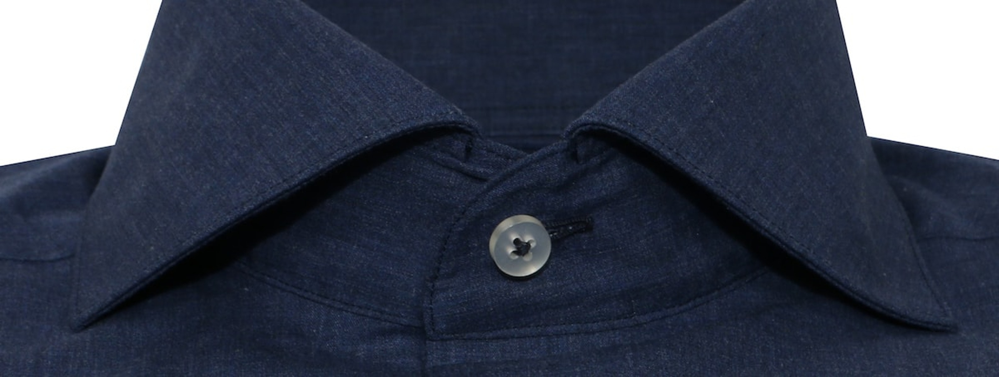 InStitchu Collection The Marley Blue Plain Shirt