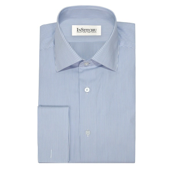 InStitchu Collection The Morro Blue Shirt