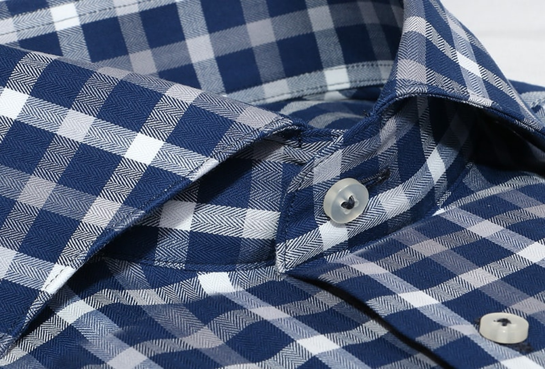 InStitchu Collection The Palagi Blue Check Shirt