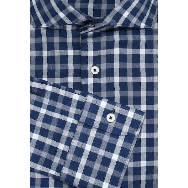 InStitchu Collection The Palagi Blue Check Shirt