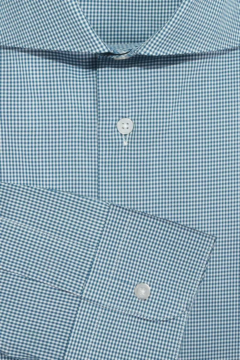 InStitchu Collection The Palm Green Check Shirt