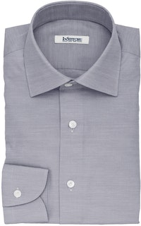 InStitchu Collection The Paterson Grey Striped Cotton Shirt
