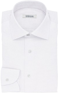 InStitchu Collection The Ruskin White Dobby Non-Iron Cotton Shirt