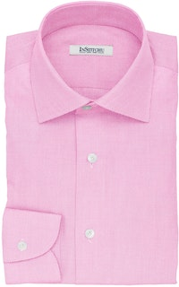InStitchu Collection The Saki Pink Pincheck Cotton Shirt