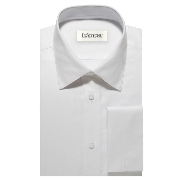 InStitchu Collection The Shark White Shirt