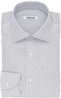 InStitchu Collection The Sicily Blue Pinstripe Cotton Shirt