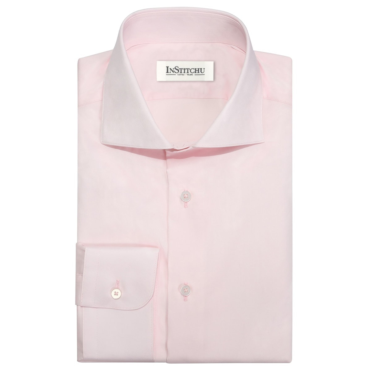 InStitchu Collection The Snapper Pink Shirt