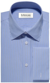 InStitchu Collection The Southwick Blue Pinstripe Shirt