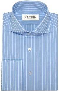InStitchu Collection The Stockton Blue Striped Shirt