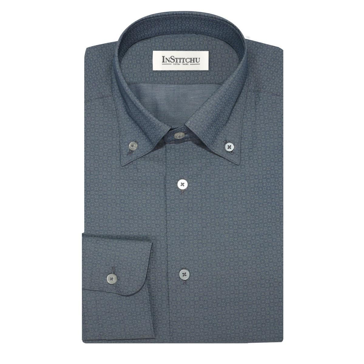 InStitchu Collection The Sunnyside Olive Print Shirt