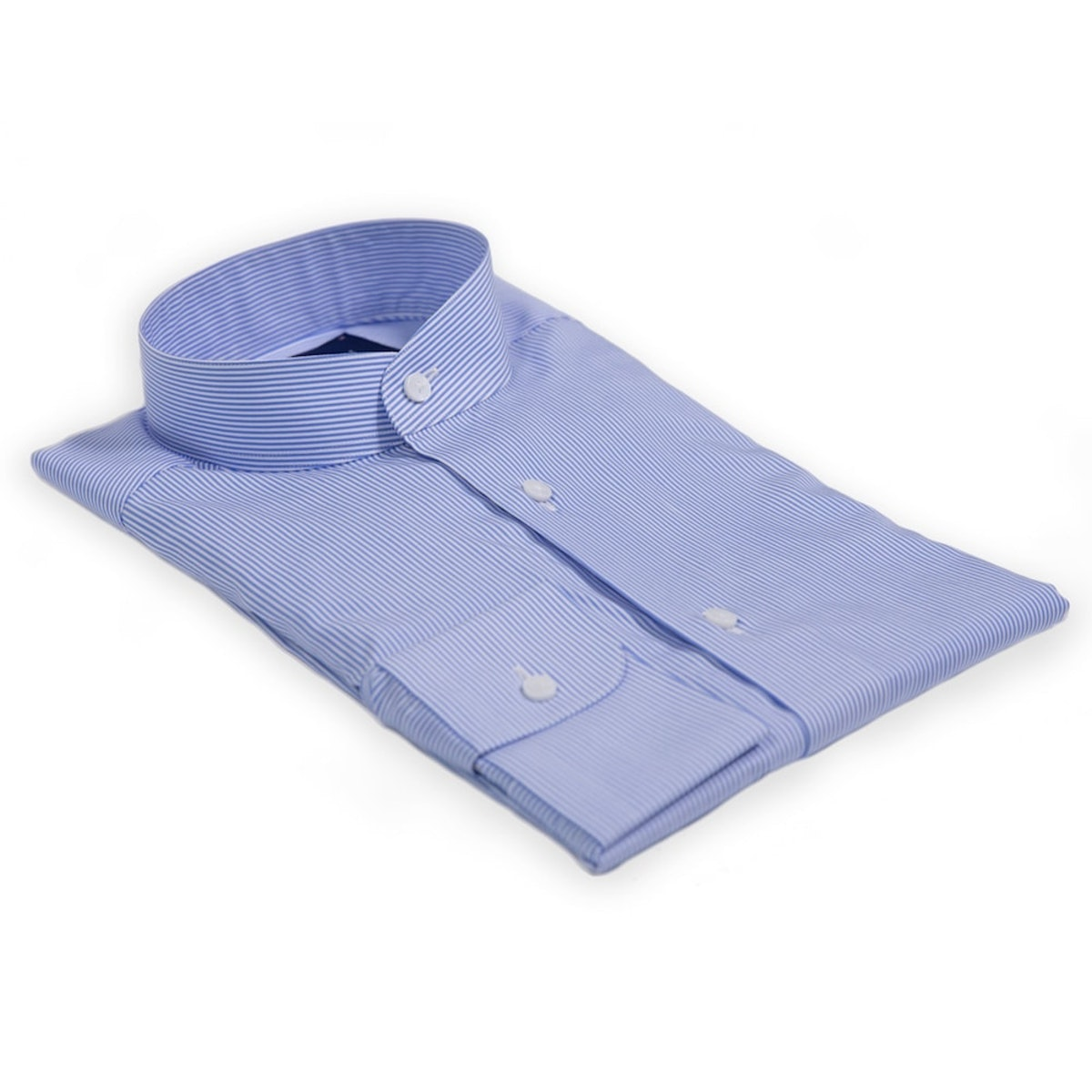 InStitchu Collection The Tanabag Blue Stripe Shirt