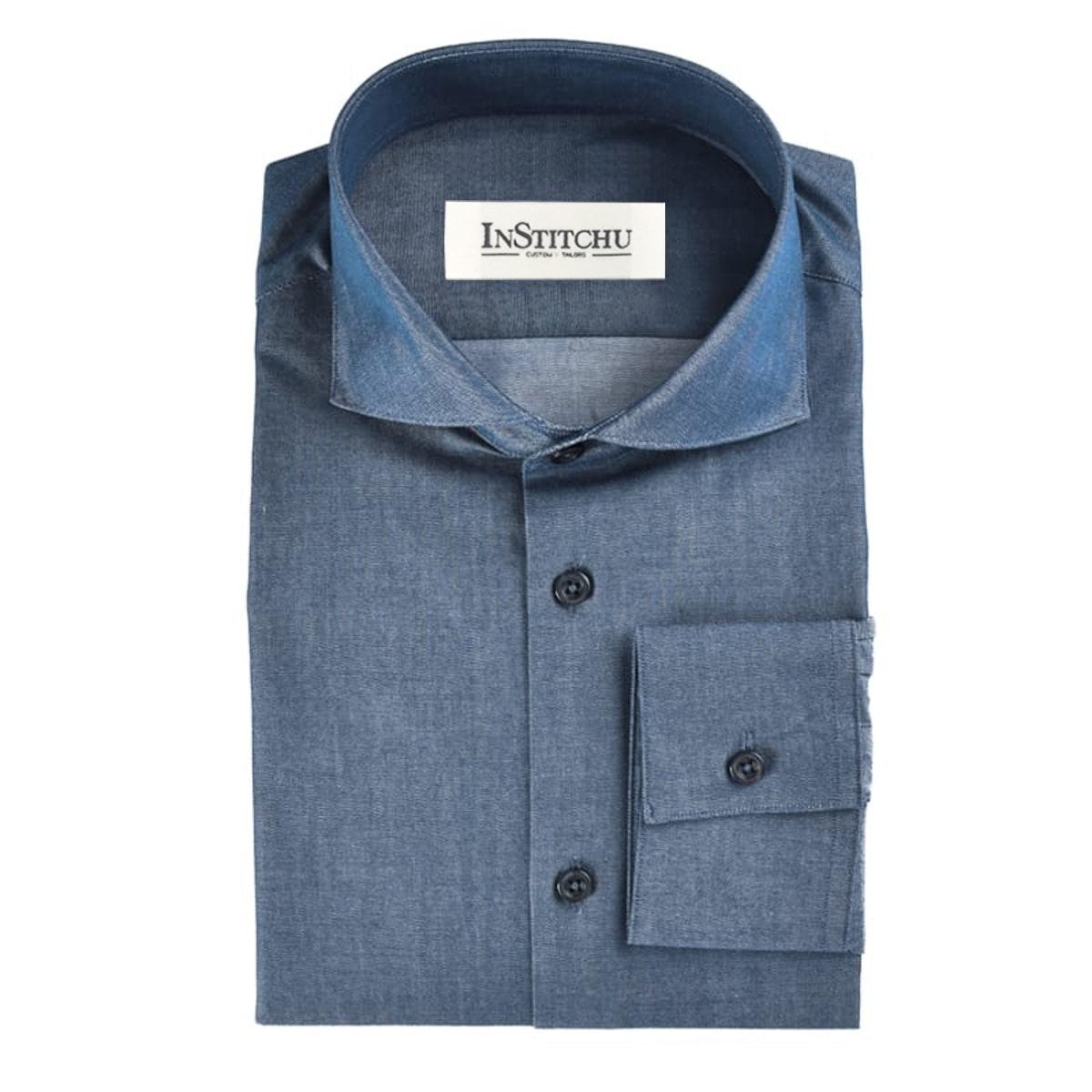 InStitchu Collection The Tarcoola Blue Chambray Shirt