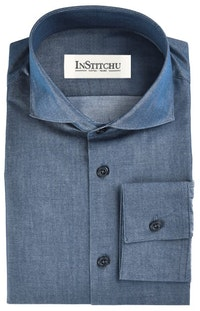 InStitchu Collection The Tarcoola Blue Chambray Shirt