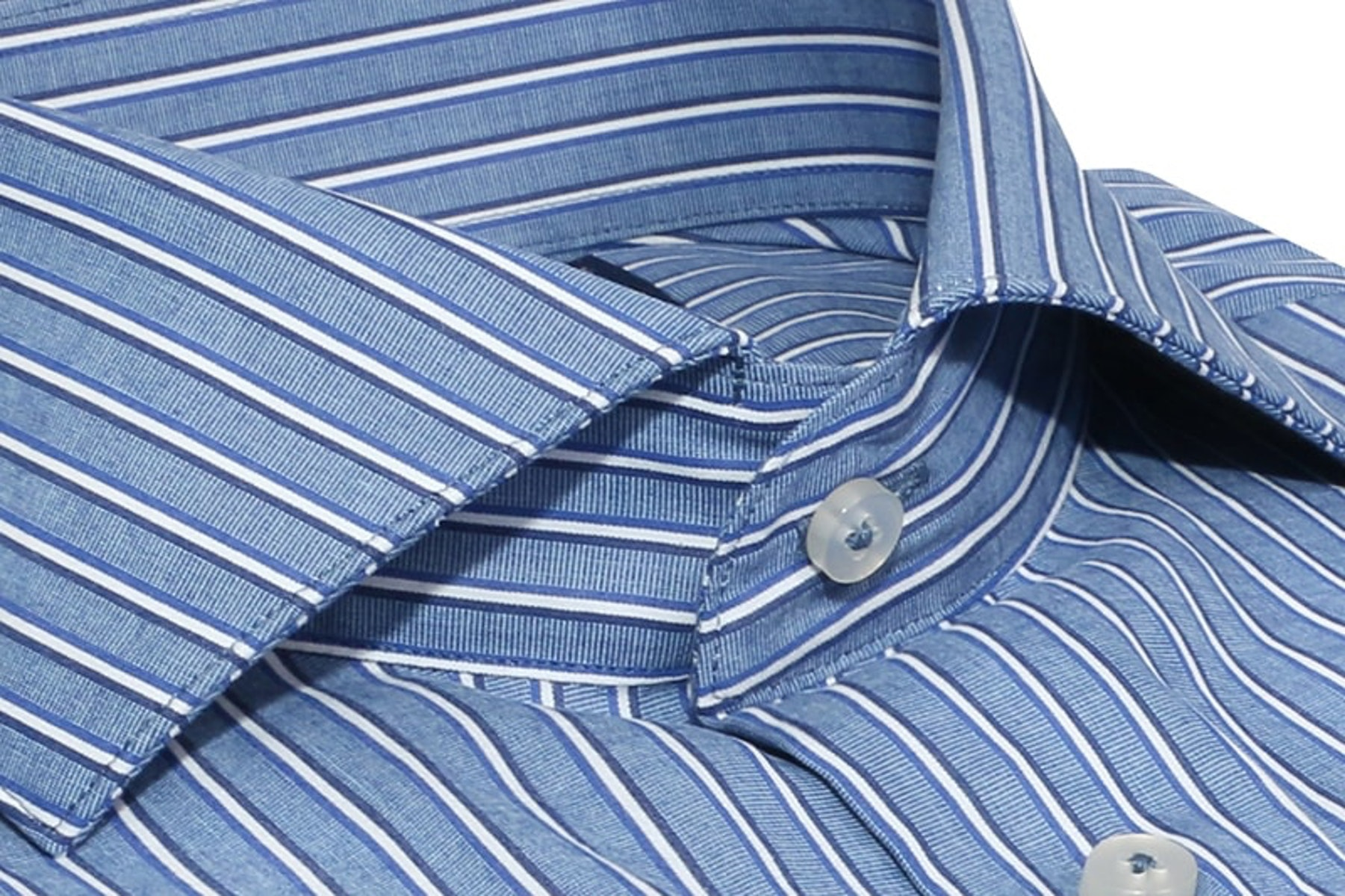 InStitchu Collection The Teewah Blue Striped Shirt