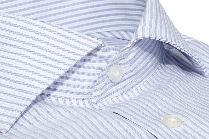 InStitchu Collection The Thornby Lavender Cotton Shirt