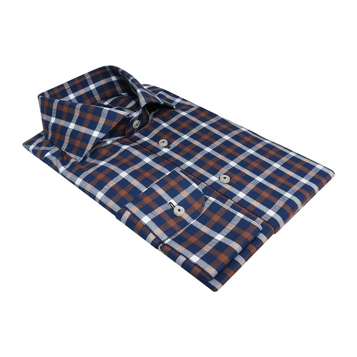 InStitchu Collection The Toco Red and Blue Check Shirt