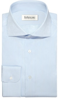 InStitchu Collection The Torrance Blue Stripe Shirt