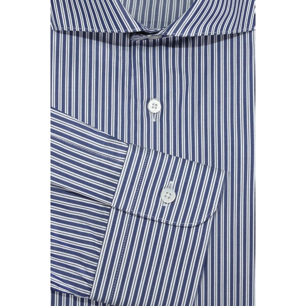 InStitchu Collection The Trinity Blue Stripe Shirt