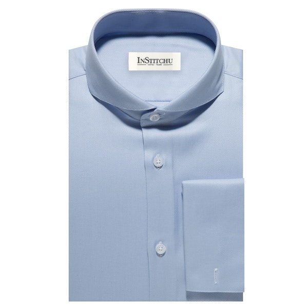 InStitchu Collection The Tybee Blue Shirt