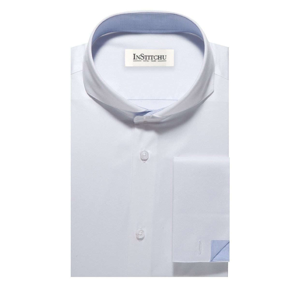 InStitchu Collection The Vanderbilt White Shirt