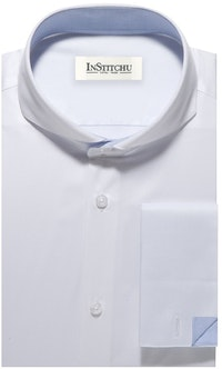 InStitchu Collection The Vanderbilt White Shirt