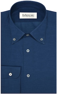 InStitchu Collection The Wattamolla Blue Print Shirt