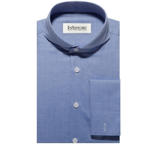 InStitchu Collection The West Blue Shirt