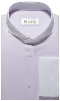 InStitchu Collection The Windsor Lilac Shirt