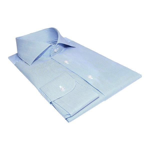 InStitchu Collection The Wonga Blue Stripe Shirt