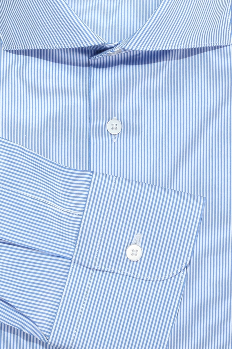 InStitchu Collection The Wonga Blue Stripe Shirt