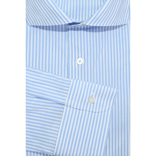 InStitchu Collection The Woodside Blue Striped Shirt