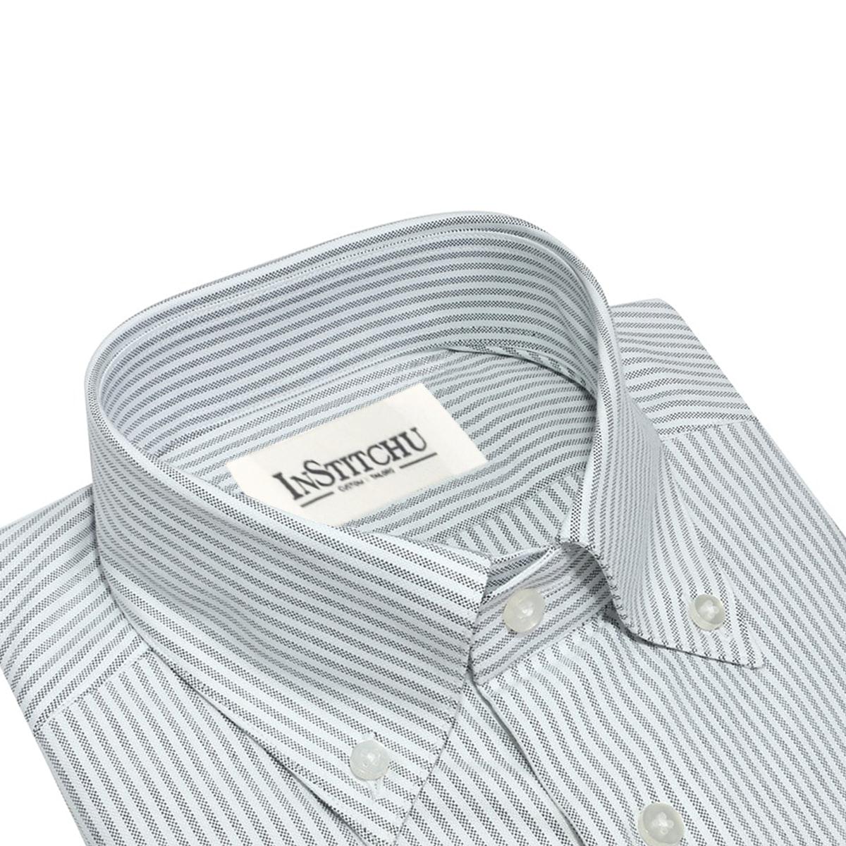 InStitchu Collection The Yallingup Black Pinstripe Shirt