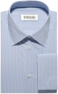 InStitchu Collection The Yaupon Blue Stripe Shirt